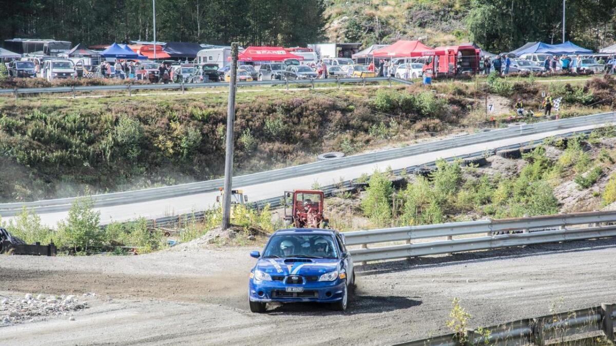 Jonas Sagen Olsen fikk teste en råsprek Subaru sist helg.