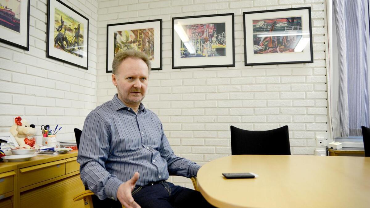 Torgeir Berstad har søkt på jobb som ny rektor på Skien videregående skole. Han er nå assisterende rektor.