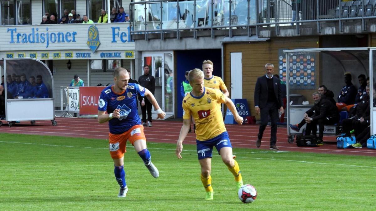 Daniel Aase, som storspilte mot Aalesund i forrige hjemmekamp, blir hvilt mot Tromsdalen.
