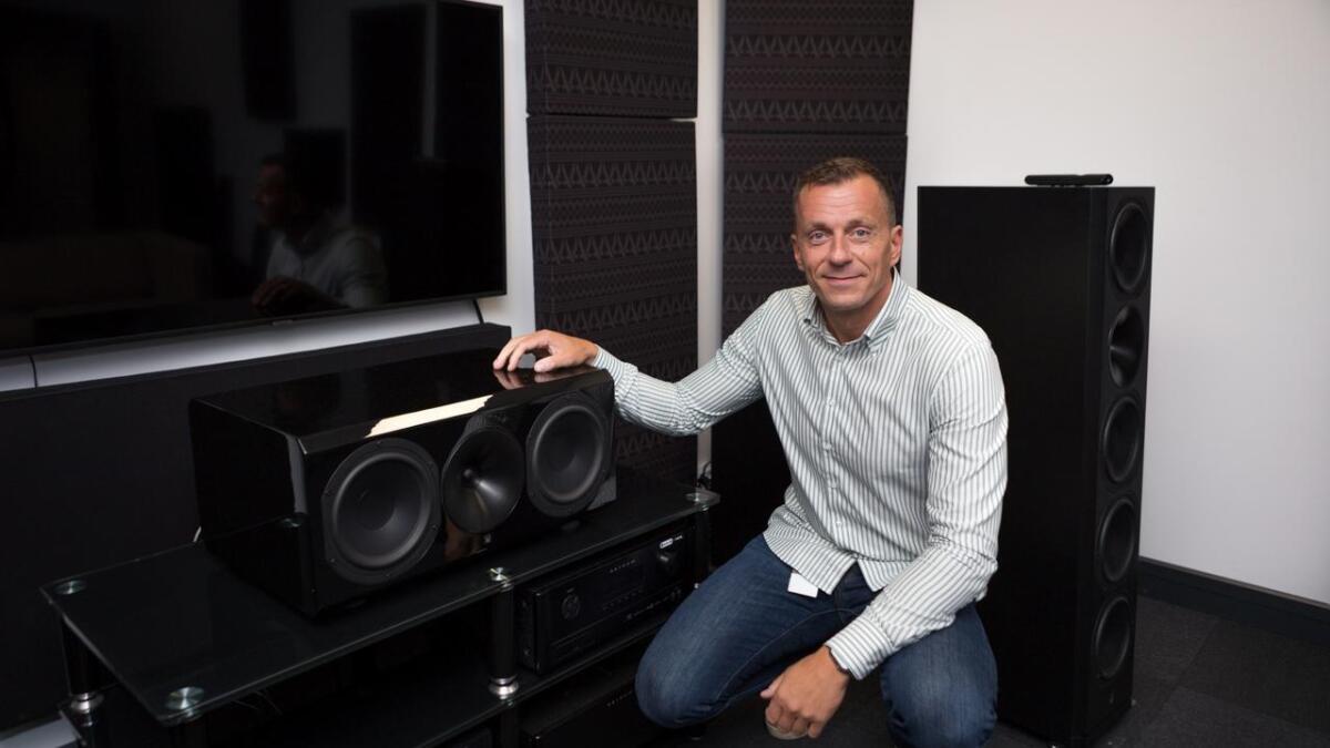 – I lydbransjen er dette det ypperste du kan vinne, sier Jan Ove Lassesen, grunnlegger av L-Sound.