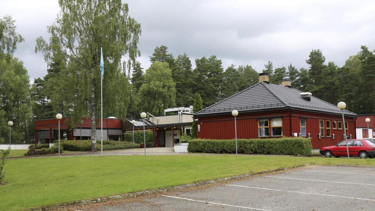 Hvis politikerne i Porsgrunn får det som de vil, blir det eneboliger her. Trærne ut mot byen skal få stå i fred. FOTO. PER ARNE RENNESTRAUM