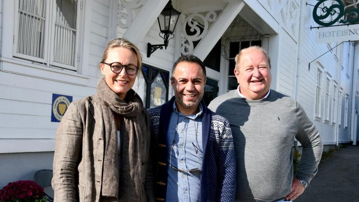 Beate Holm Töpfer, Iman Madani og Roger Heimdal gleder seg til høstens Tour de Øl, lørdag 2. november.