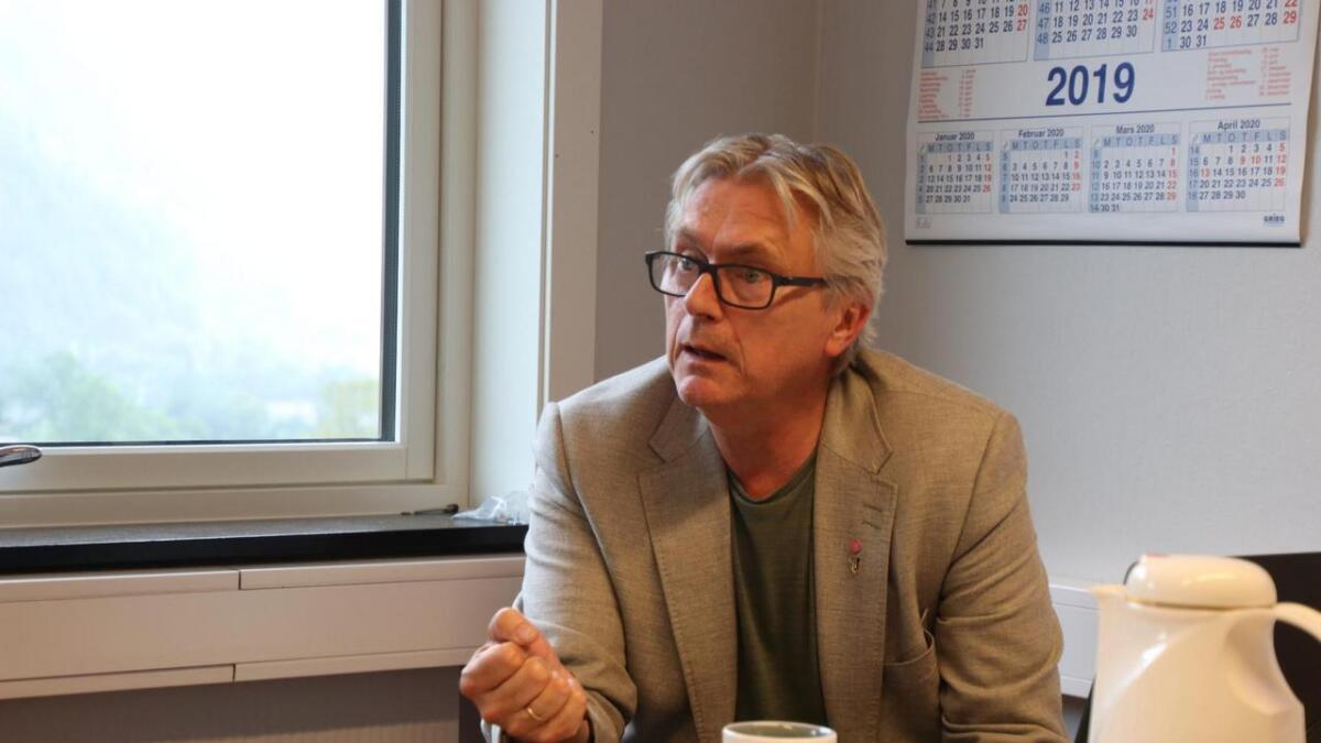 Ordførar Eirik Haga er overraska over korleis Vaksdal sin helse- og omsorgssektor slår ut på kommunebarometeret.