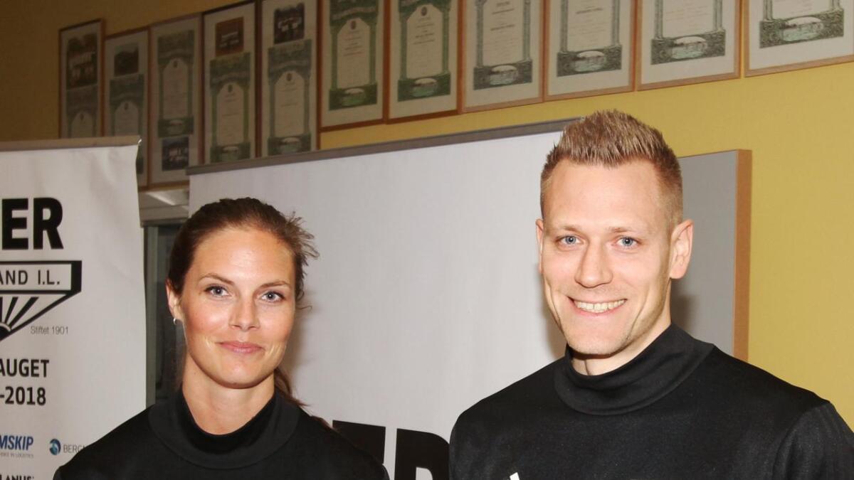 Julie Voktor Pedersen og Aleksander Bjørnsund. (Arkivfoto)