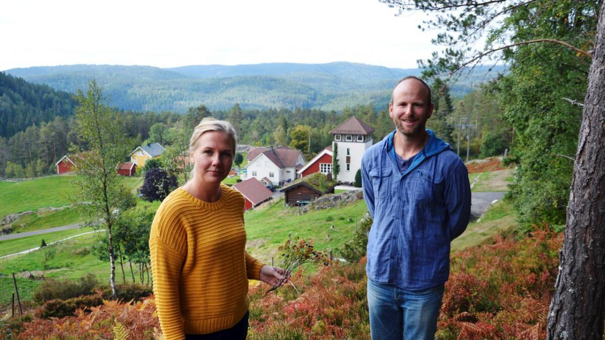 Endelig kan Gunnar Sagstuen og kona Pernille leve av bærproduksjon.