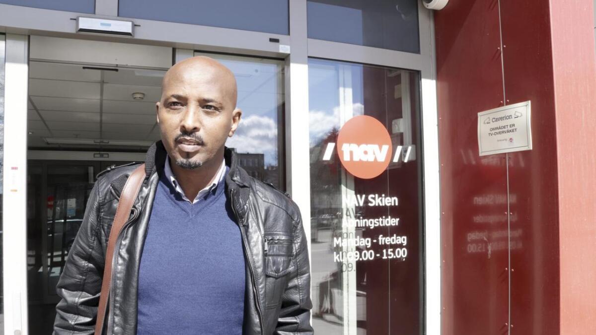 Daha Gobdoon kritiserer Navs tiltak overfor flyktninger fra Somalia.