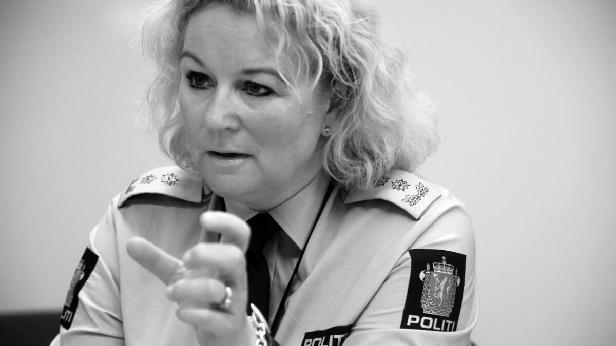 Politimeister Christine Fossen.