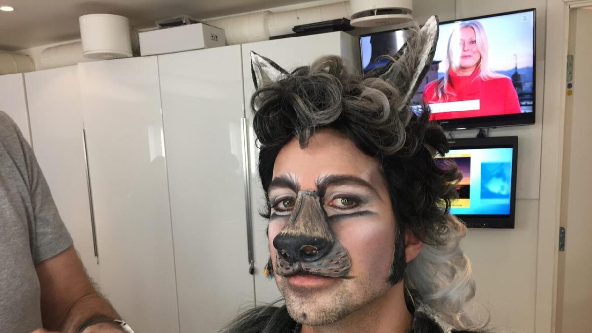 Espen Grjotheim er ulven Gråbror i Jungelboken.