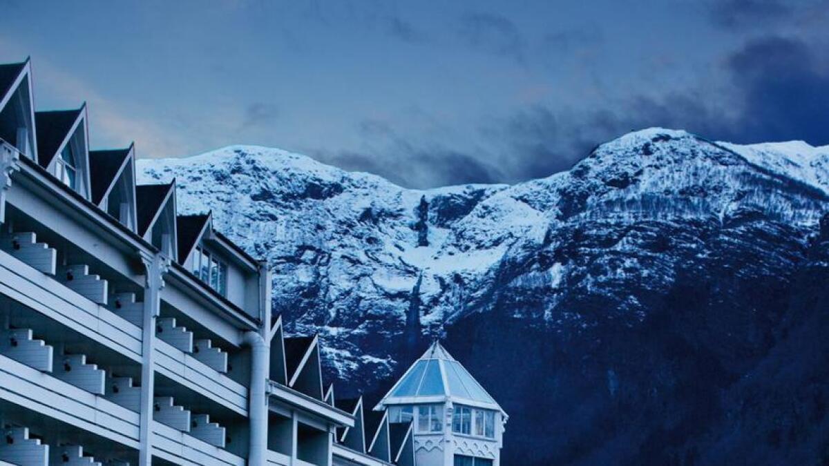 Hotel Ullensvang vert stengt i vinter frå 13. desember til 2. april.