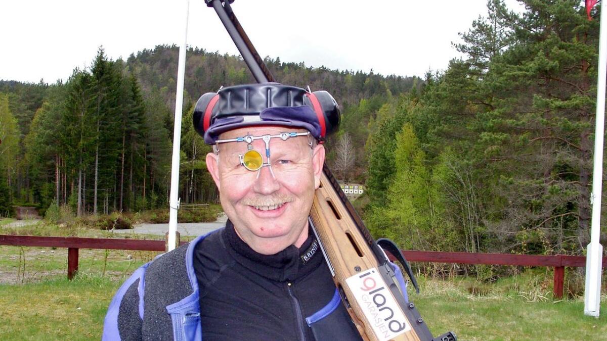 Anders Metveit har grunn til å smile etter seier i landsdelsstevnet i Fyresdal nylig.             Arkivfoto