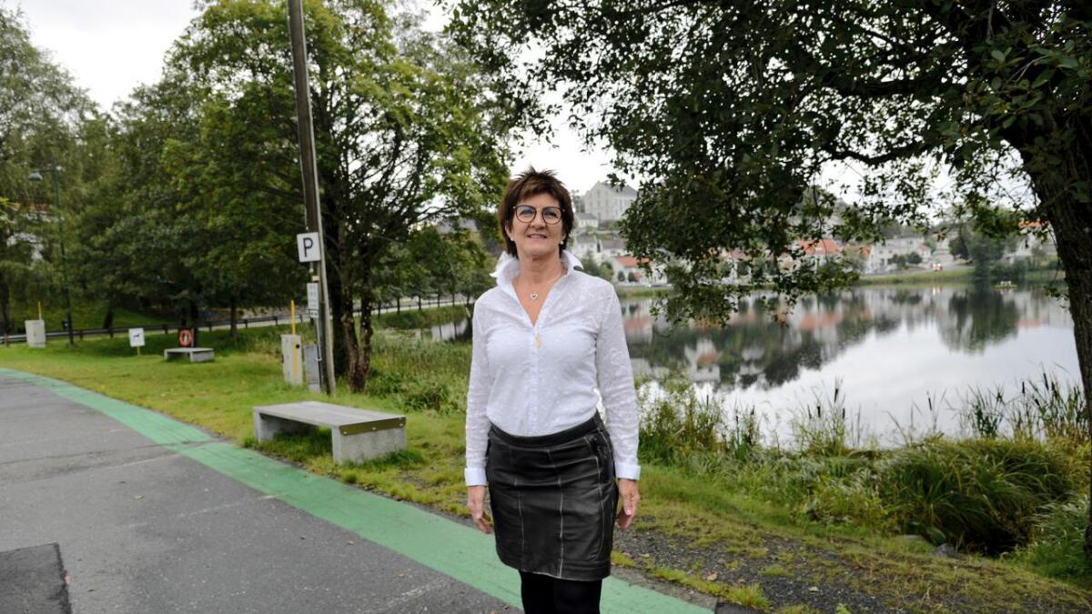 Da velgerne hadde sagt sitt, sto påtroppende ordfører Marianne Landaas tilbake som eneste kvinne i Høyres nye gruppe i kommunestyret.