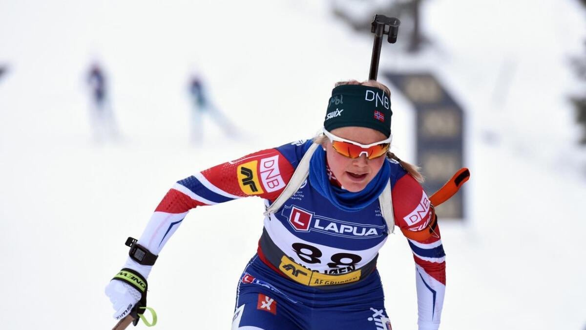 Hilde Fenne vart dårlegast av dei norske på verdscupsprinten i dag.