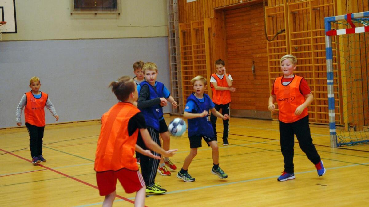 Sortland handballklubb er stadig i vekst, og har søkt støtte til innkjøp av flere mini-mål som kan bidra til å øke treningskapasiteten. (Arkiv
