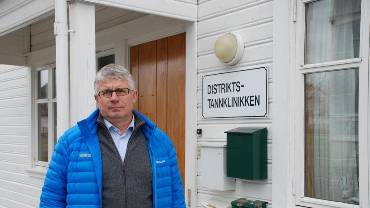 Ordfører i Lillesand og leder i Aust-Agder Høyre, Arne Thomassen, er overbevist om at en sammenslått Lillesand og Birkenes kommune vil drifte tannklinikken på en utmerket måte.