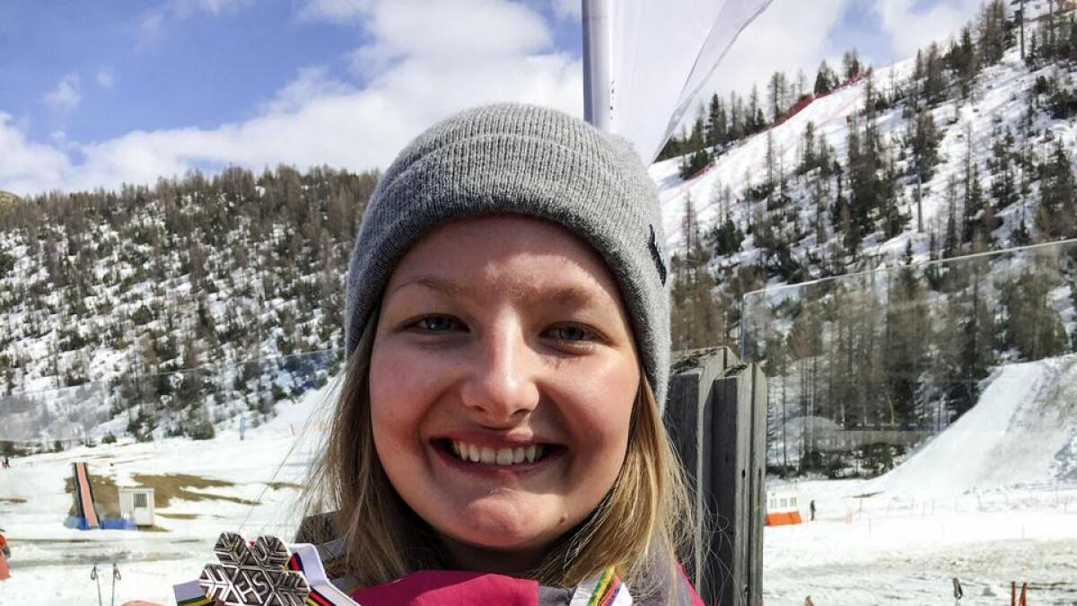 Nora Lødøen tok sylv i junior-VM sist sesong. No er vossingen klar for å køyra verdscup.