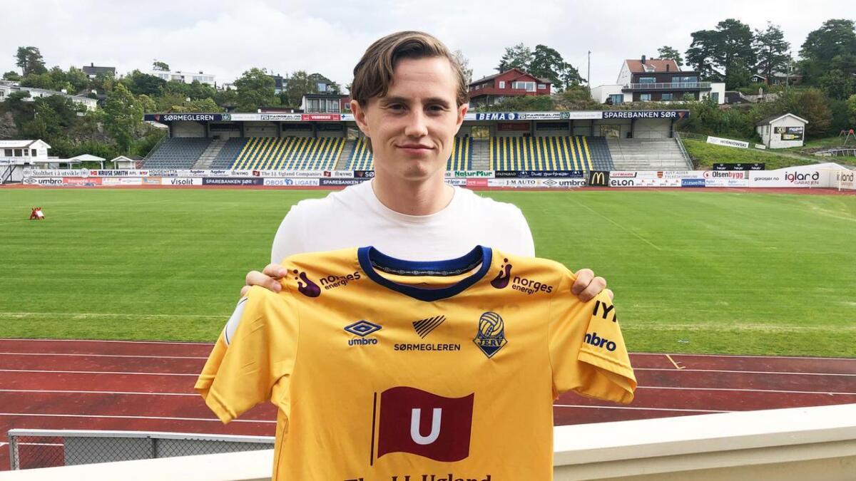 Jørgen Solli er klar for spill i Jerv.