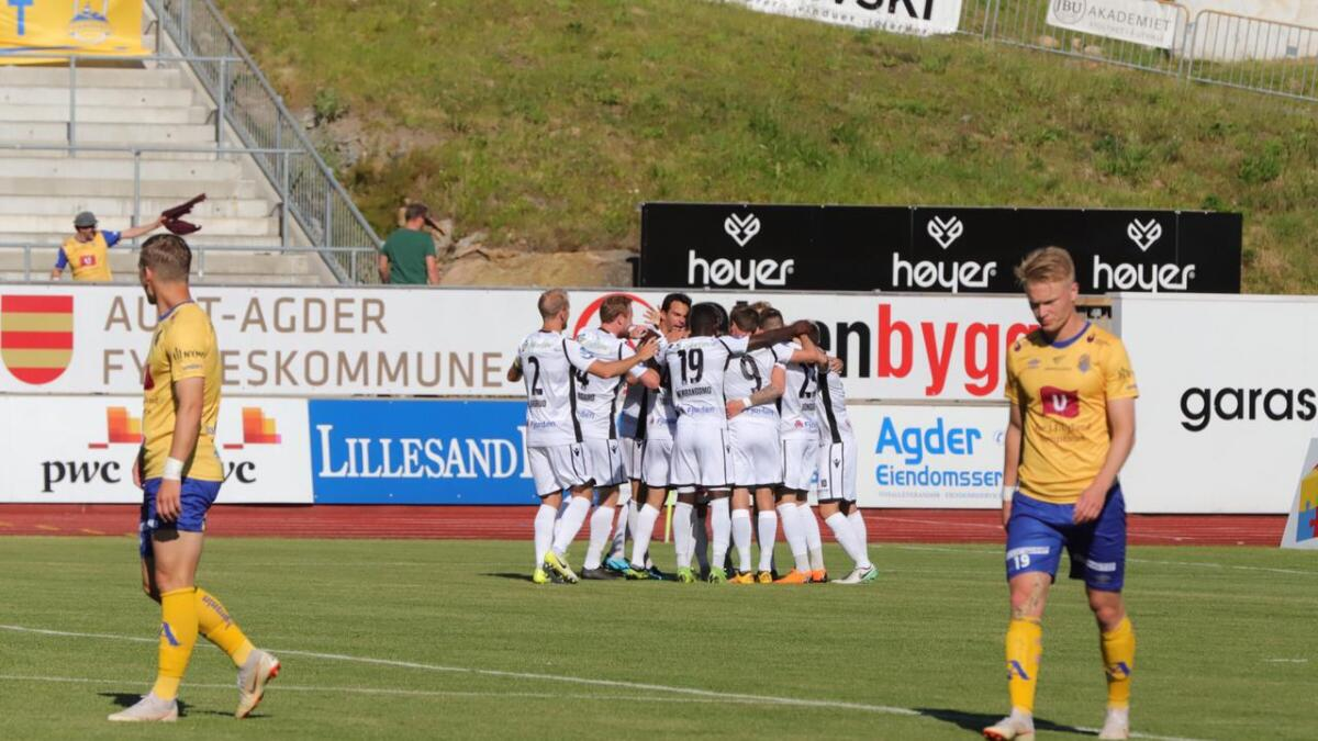 Det tok ikke mange minuttene før Jerv lå under mot topplaget Sandefjord.
