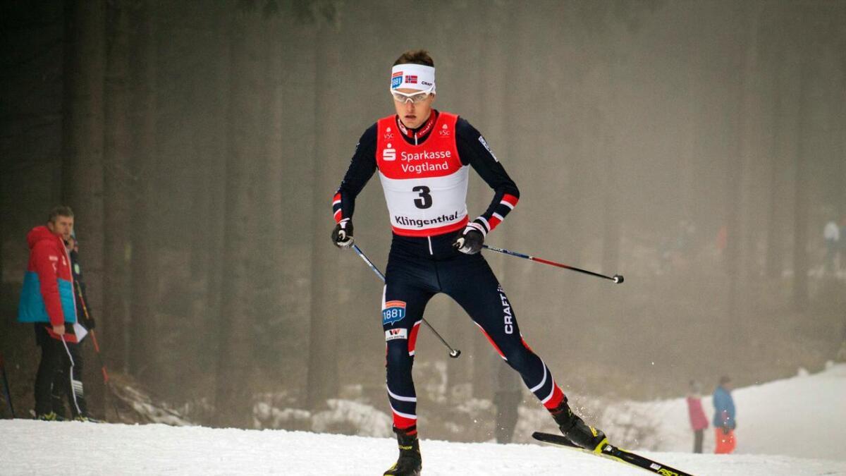 Sindre Ure Søtvik gjekk inn til si beste verdscupplassering nokosinne i prøve-OL i Sør-Korea. ARKIV