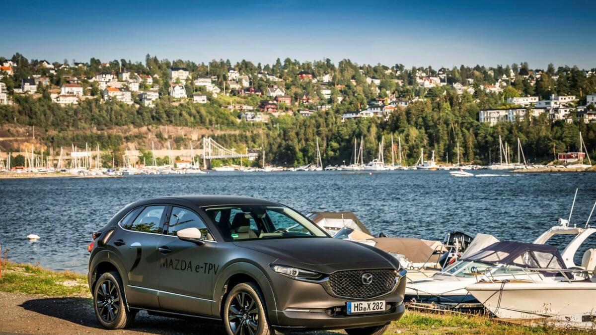 Mazda er i Norge og testar ut ei elektrisk drivline som kjem i produksjon neste år.