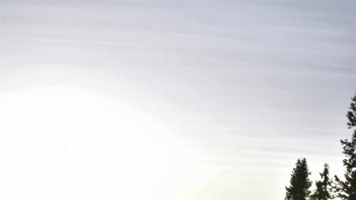 Vinjar Slåtten svevar her over Åre under trening før han reiser til Sør Korea. – Forma er stigande, seier han.