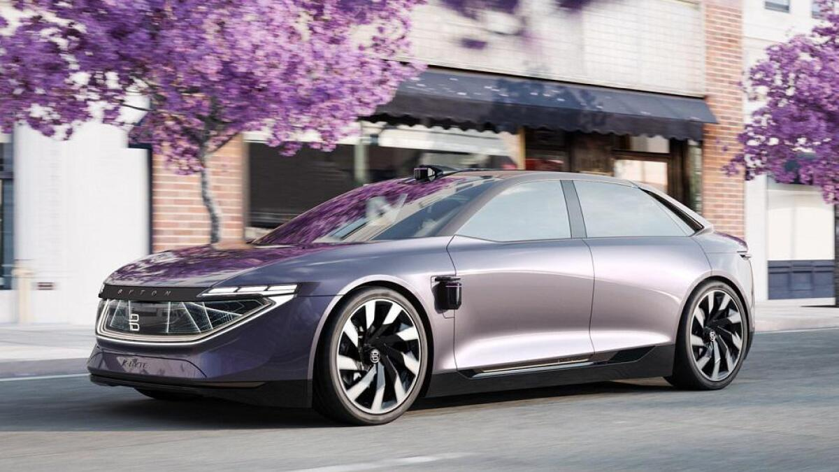 En sedan, K-Byte, kommer i 2021