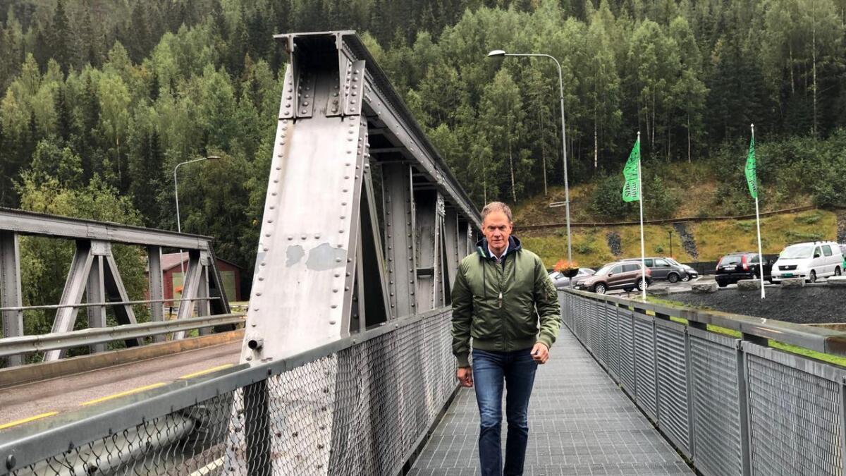 Ordførar i Nore og Uvdal Jan Gaute Bjerke (Ap) fekk nyheita om at kommunen hans får minst pengar i regionen ifølgje framlegget til statsbudsjett for neste år.