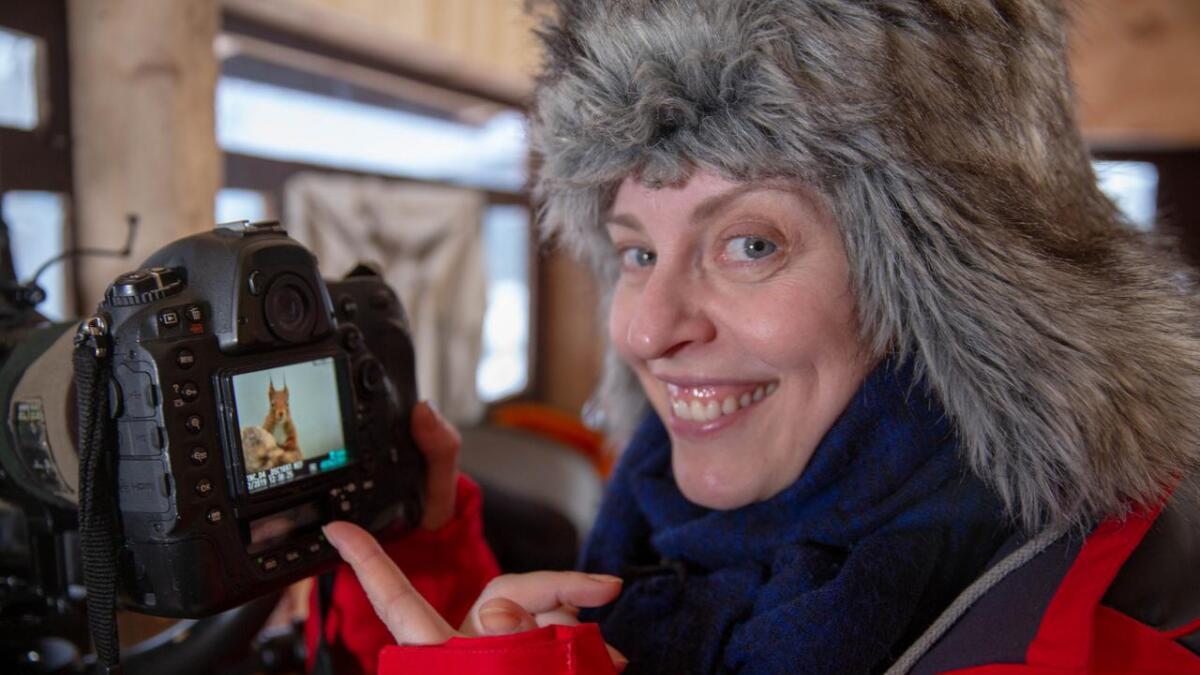 Det blir blinkskot av fleire dyr under opphaldet i Telemark.