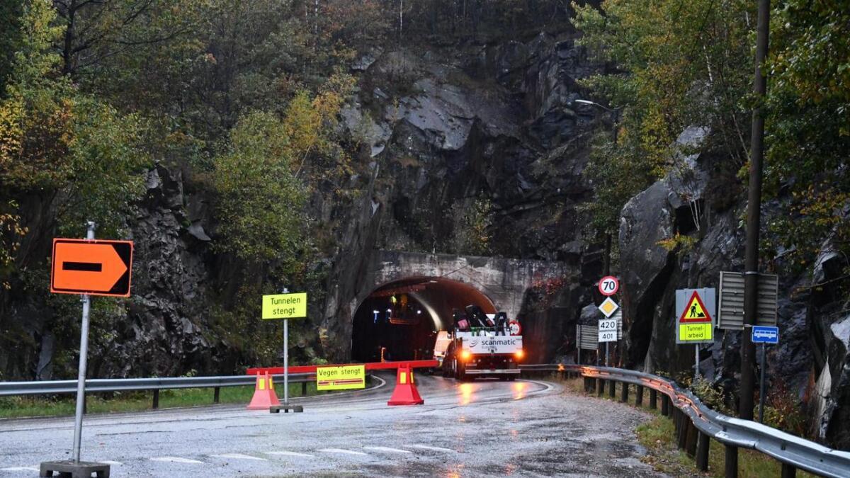 Statens vegvesen forteller at de snart er ferdige med opprustingen av Vallesverdtunnelene.