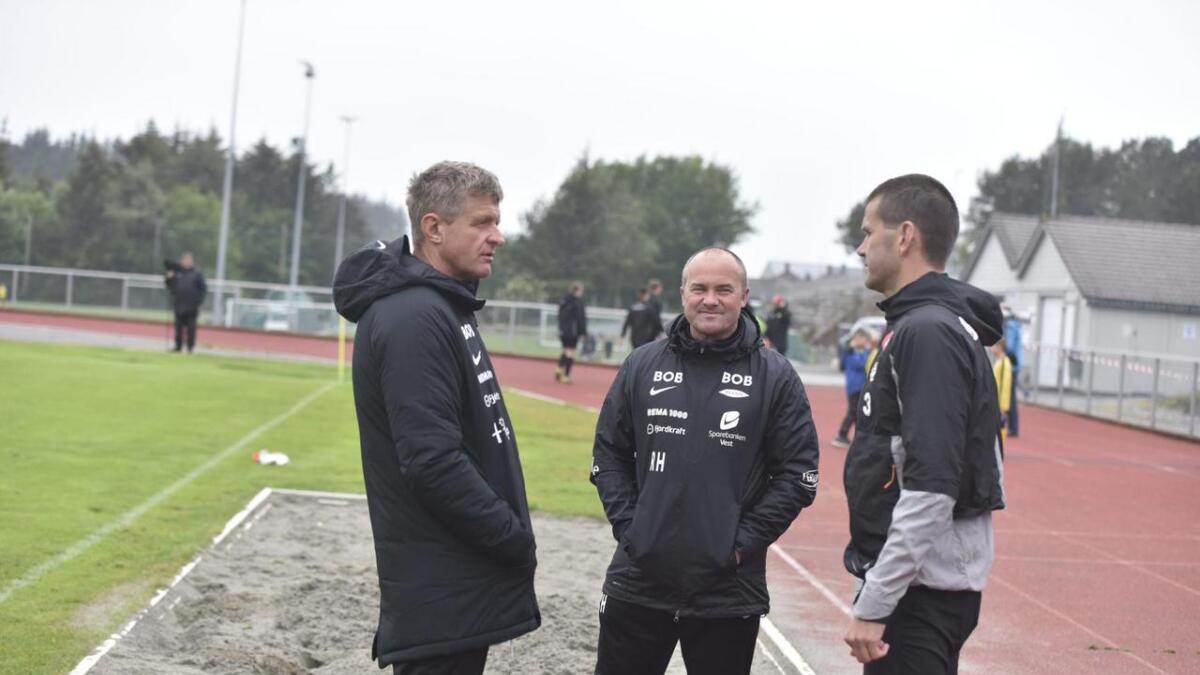 Om ikkje lenge møtes dei to trenarane igjen når Sogndal tek imot Brann til cupkamp.