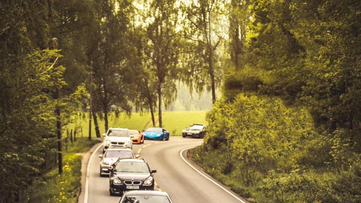 Bilar for mange millionar rullar frå Sørkedalen til Aker Brygge.