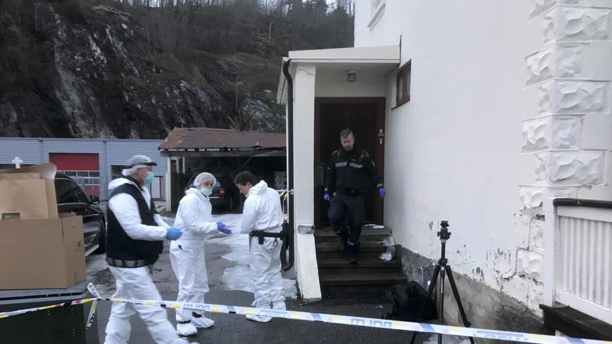 Politiet har siktet eksmannen for drap på småbarnsmor (38)