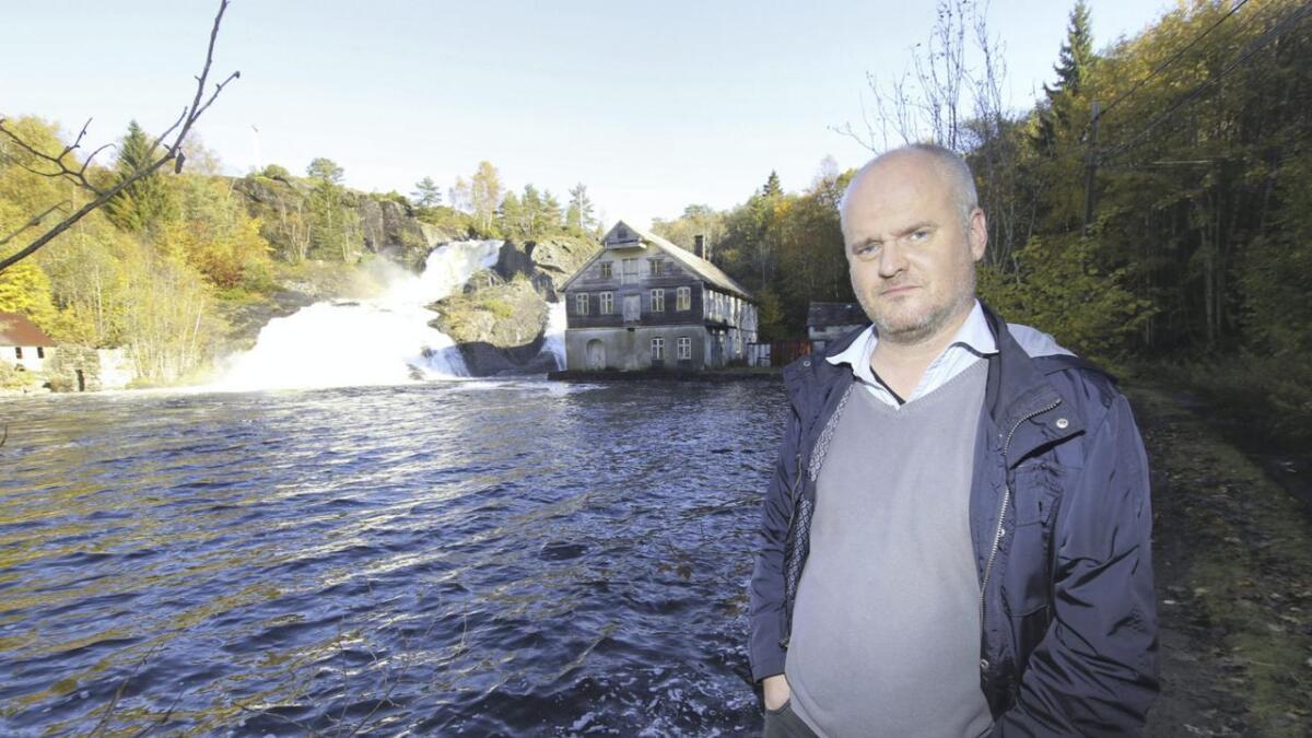 – Vi har snakka og fantasert om kva margarinfabrikken kan brukast til i lang tid. No er det i ferd med å losna, seier Morten Holmefjord.