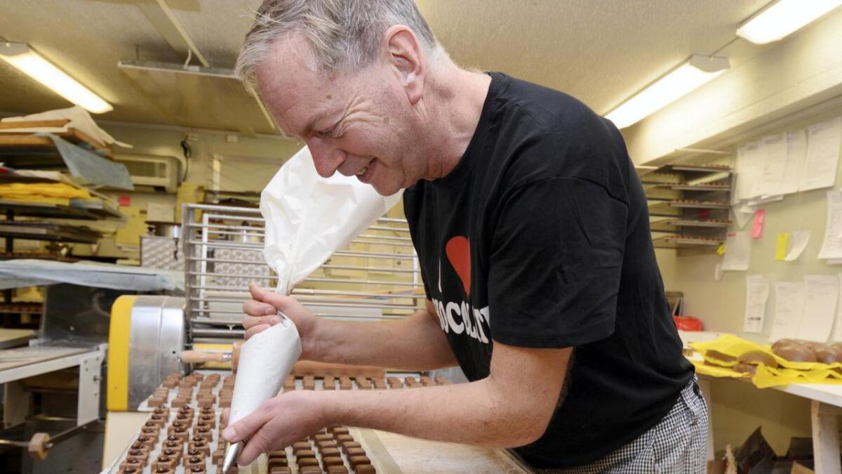 Morten Arnesen hos Heimdal Chokolade, har på et bilde fra tidligere i år.
