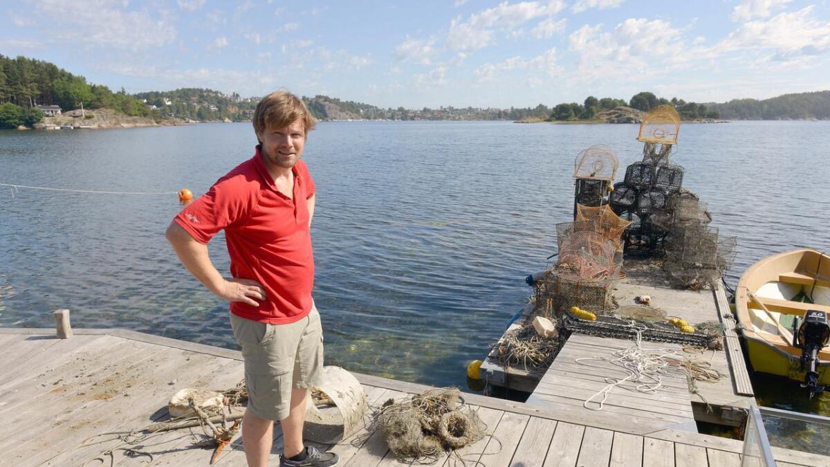 Tord Aslaksen er klar på at rydding av havbunnen kan føre til funn av farlige gjenstander.