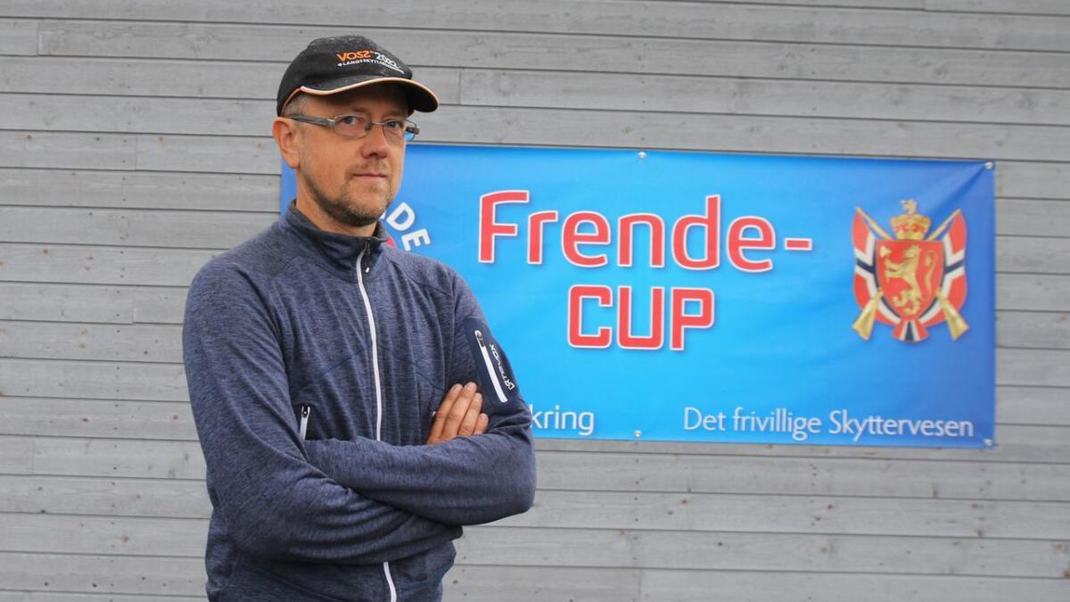 Morten Helgaset er stemneleiar for noregscupen på Voss.