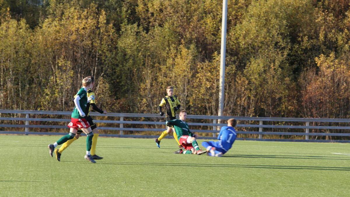 Morild scoret tre mål i kampen mot Harstad2