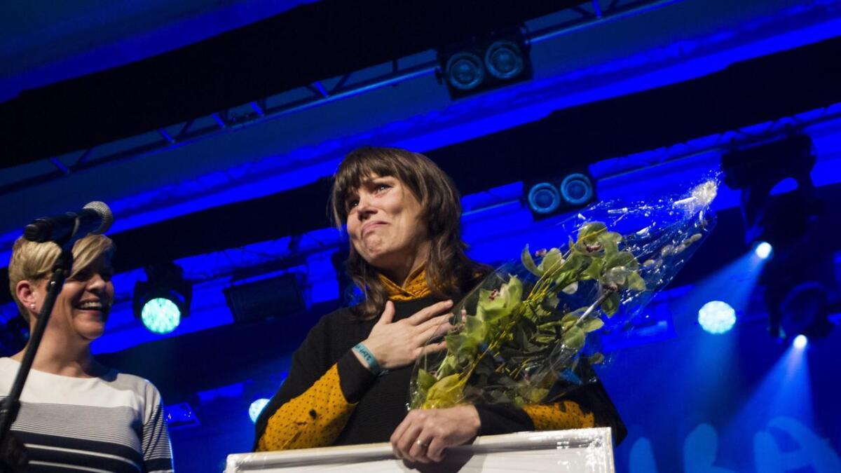 Benedicte Maurseth fekk Vossa Jazz-prisen 2018.