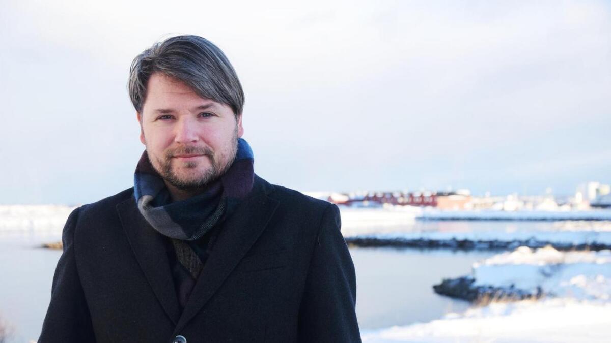 Yngve Laukslett i Andøy Senterparti var til stede på foredraget i Bodø.