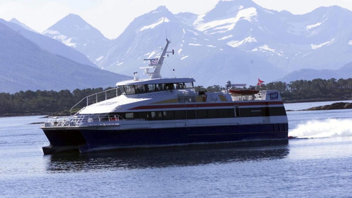 Miljødirektoratet har fått mange søknader frå fylkeskommunar som vil gå over til meir miljøvennleg drift av hurtigbåtar. Arkiv
