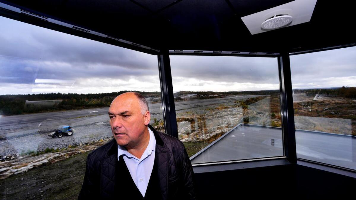 Jan Morten Myklebust på Gullknapp fikk heller ikke 14. februar svar på konsesjonssøknaden.