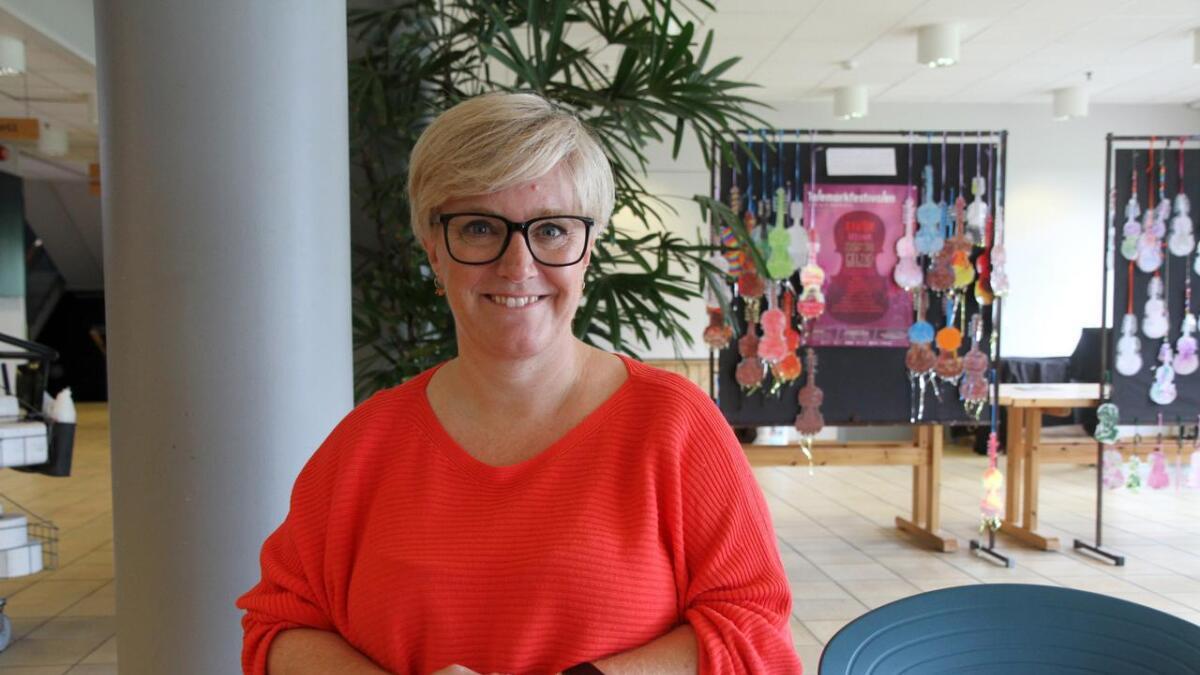 Trine Brox fekk jobben som ny sjef i Gullbring Kulturanlegg.